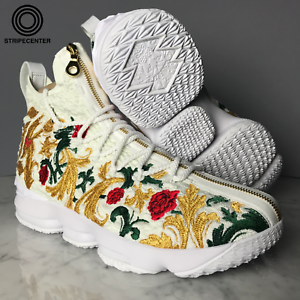 68d7d1c1d5c3 LEBRON 15 PERFORMANCE  KITH KINGS CLOAK  - WHITE WHITE-MULTIC ...