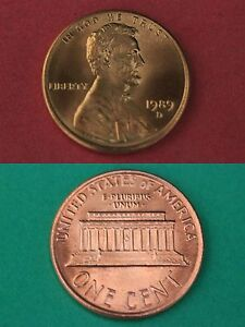 1984-D LINCOLN MEMORIAL CENT GEM BRILLIANT UNCIRCULATED