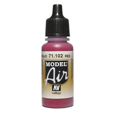 Av Vallejo Model Air rlm 23 Red Airbrush Paint Val102
