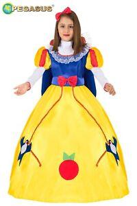 Costume Biancaneve Bambina Vestito Carnevale Pegasus Fiabe & Favole