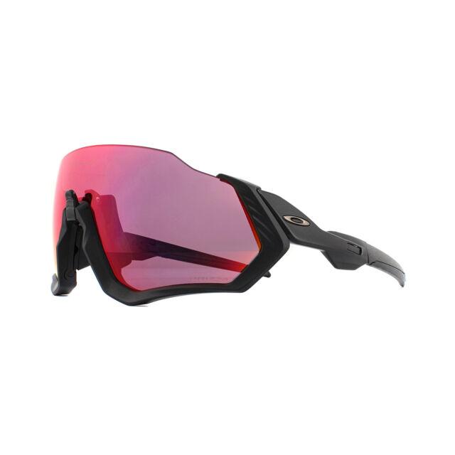 Oakley Sunglasses Flight Jacket OO9401-01 Matte Black Prizm Road