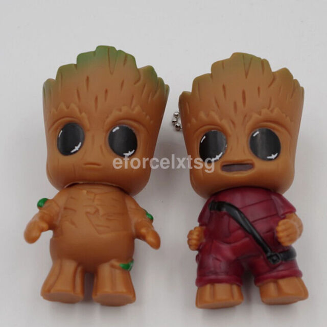 "1x Lovely Guardians of the Galaxy Vol.2 Baby Groot 3"" Key Chain Small Pendant US"