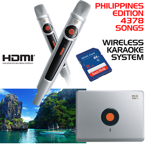 MIIC-STAR-MS-62-PHILIPPINES-KARAOKE-SYSTEM-WIRELESS-MICS-WITH-4378-SONGS