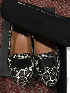 Used-Authentic-Marc-By-Marc-Jacobs-Leopard-Loafer-38-5-8-5