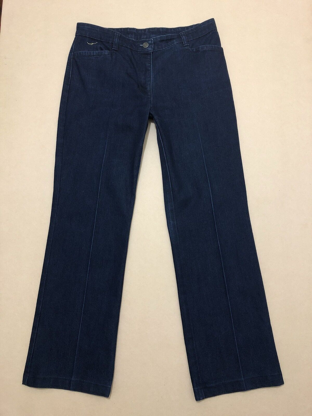 RM WILLIAMS JEANS WOMENS  SIZE 12 R  GREAT COND   TT637   DENIM PANTS TROUSERS