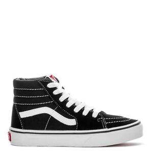 297a53f40c Vans SK8-Hi VN000D5F6BT Black True White Big Kids Youth Shoes