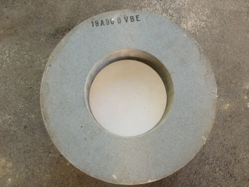 Large Industrial Grinding Wheel 19 A 90 0 VBE 14 x 7 x 3 ""