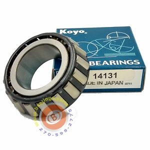 Details about Koyo 14131 Tapered Roller Bearing Single Cone (Timken, SKF,  NTN) *Made in JAPAN*