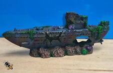 Submarino U Boat rocas grifo Aire Sub naufragio Adorno Acuario Pecera
