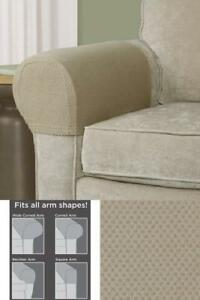 Image Is Loading Sofa Arm Protectors Armrest Covers Stretchy Set Stretch