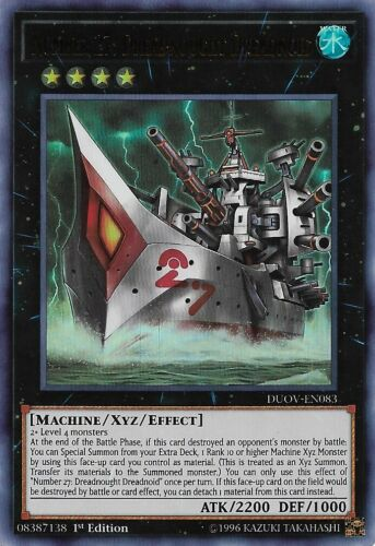 - Ultra Rare Number 27: Dreadnought Dreadnoid 1st Edition DUOV-EN083
