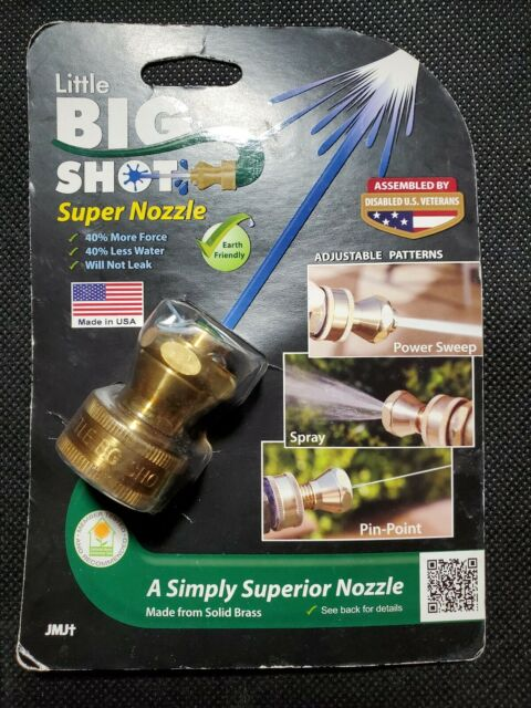 Garden Patio Garden Hose Guns Nozzles Solid Brass Hose Jet Sweeper Nozzle Made In Usa With Extra Washers Mtmstudioclub Com