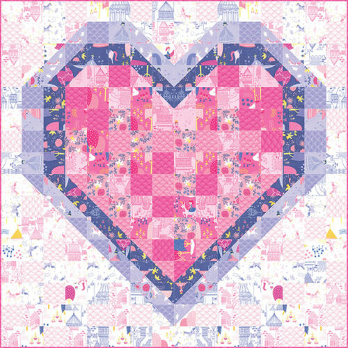 Quilt Pattern ~ ALL OF MY HEART ~ by Stacy Iest Hsu