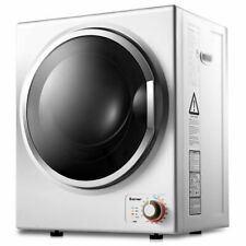 Electric Tumble Compact Laundry Dryer Stainless Steel Wall Mounted 1.5 cu .ft.