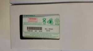 NEW ORIGINAL MOTOROLA HNN8133C 7.5V Nickel-Cadmium Battery FREE SHIP CP250 P040
