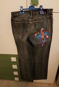 Gum Poche Donna Taglia Nero 47 Volte Uomo Iceberg Bubble Disegno Usato Con Jeans BwPY6qI1