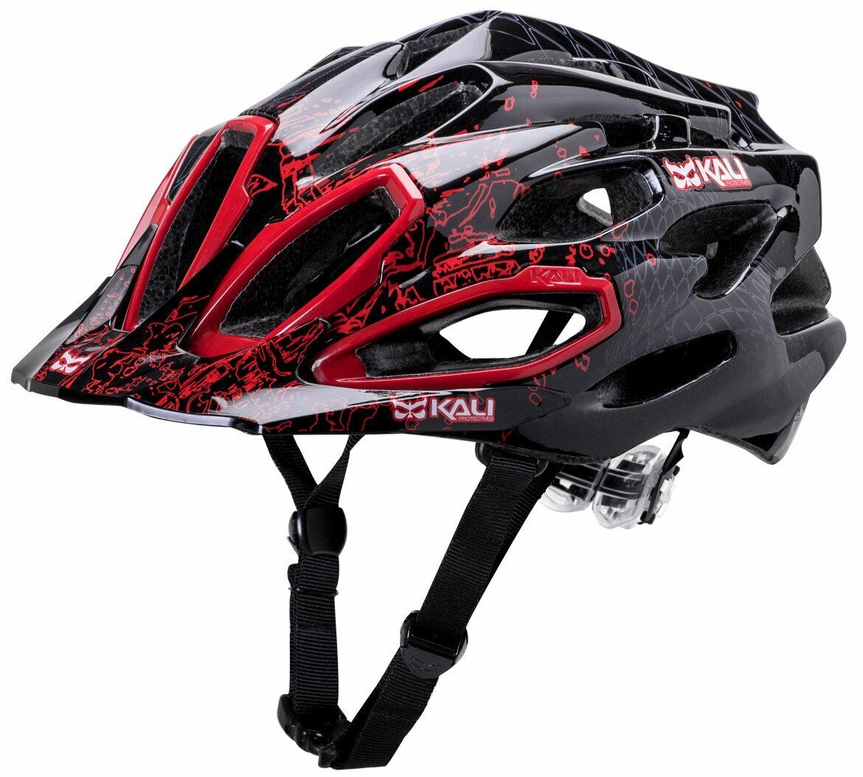 Kali Prossoectives Maraka XC MTB Mountain Trail Bicycle Helmet Edge rosso