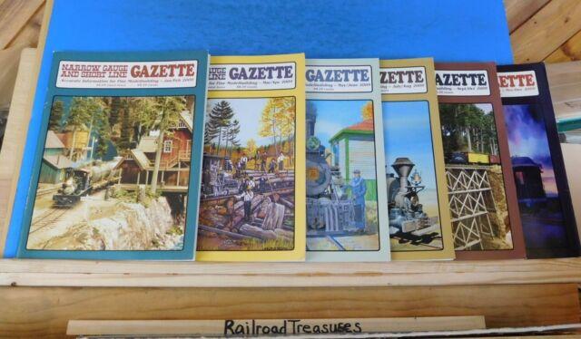 Narrow Gauge & Short Line Gazette Complete Year 2009 6