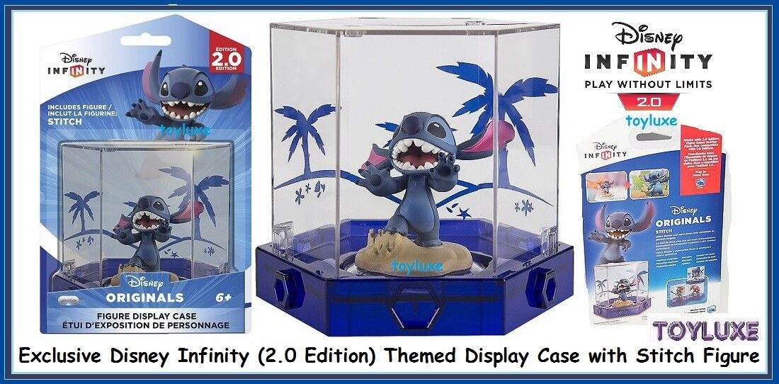 a5211ea25 Disney INFINITY 2.0 Originals Exclusive Stitch Game Figure & Display ...