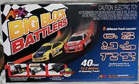 Afx Ho Scale Big Block Battler Mega G+ Race Set W/ Tri Power Pack 21004
