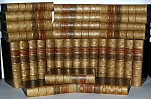 Charles-Dickens-complete-works-C1890-30-Volume-Chapman-amp-Hall-Illustrated