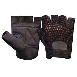Kleidung & Accessoires 405 Verpackung Der Nominierten Marke Herren-accessoires Mesh Leather Fingerless Gloves Gym Weight Training Bus Driving Wheelchair