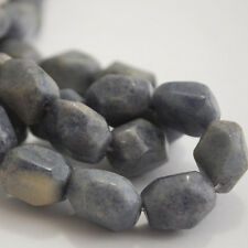 10 x Semi Precious Gemstone Blue Aventurine Nuggets Beads 16 x 14mm