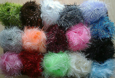 NEUER Preis 100 g Fransengarn Ayda Fransenwolle freie Farbwahl viele Farben