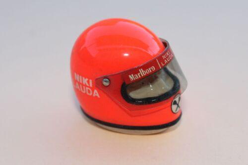 KF Casque F1 heco miniatures Niki LAUDA formule 1 voiture malboro 2,5 1,8 2,2cm