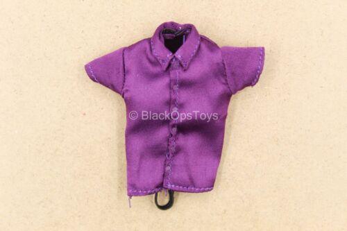 1//12 scale Toy-Le Joker-crime Prince-Violet Boutonné Chemise