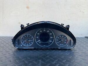 ✔MERCEDES W211 E350 E500 E550 INSTRUMENT CLUSTER SPEEDOMETER GAUGE OEM