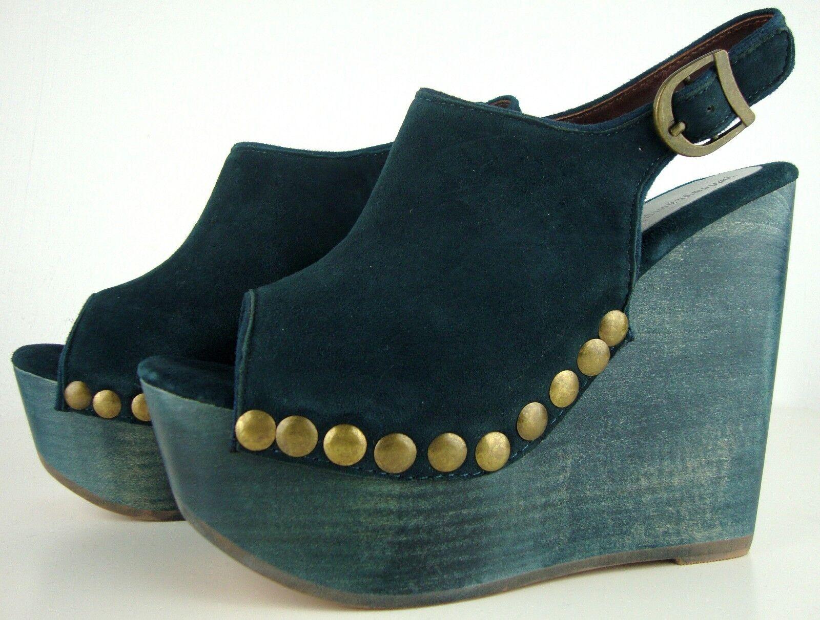 JEFFREY CAMPBELL Schuhe SNICK STUD Platform Sandales Damen Plateau Schuhe CAMPBELL Leder Gr40 NEU 0de9ad