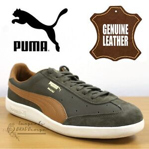 363806 pelle in 02 Puma casual Green da Sneakers uomo Sneakers Madrid Jungle scamosciata ZP7zwa8qx