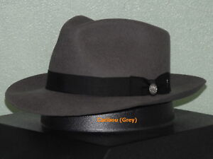 Image is loading STETSON-CHATHAM-WOOL-FEDORA-HAT 7fafcc6c3bc