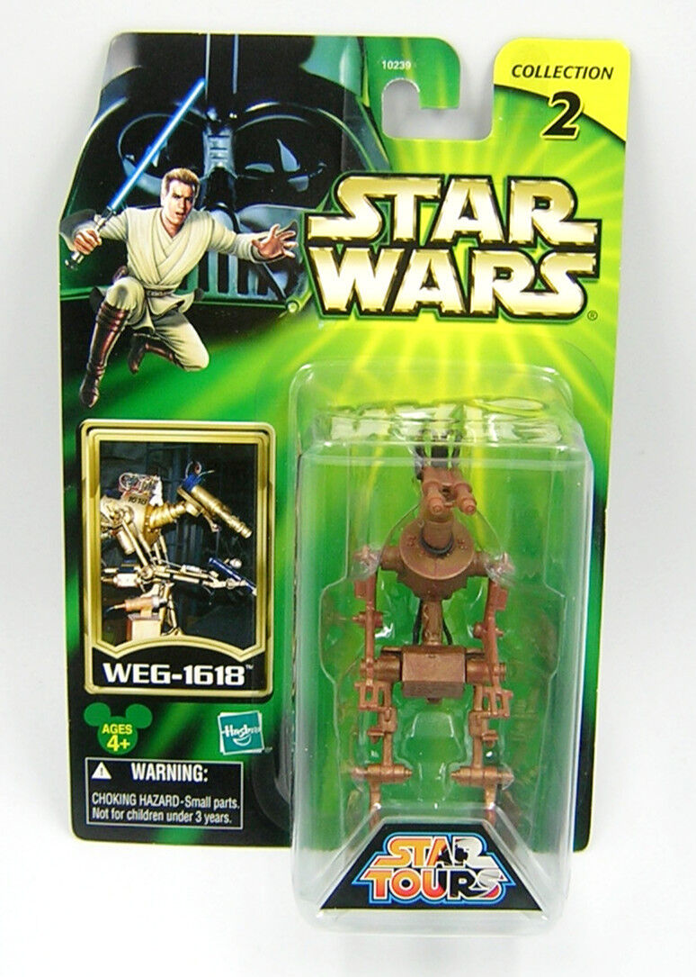 Star Wars Star Tours EXCLUSIVE WEG-1618 Droid 1st 1st 1st Release Japanese Import fd647e