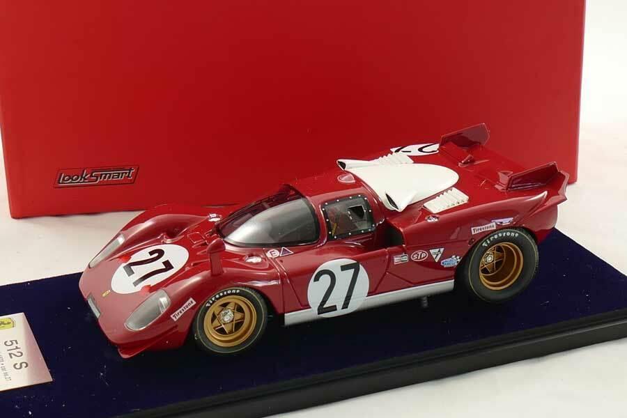 Ferrari 512 S Daytona 1970 Ickx - Looksmart 1 18 - LS18 u 08B