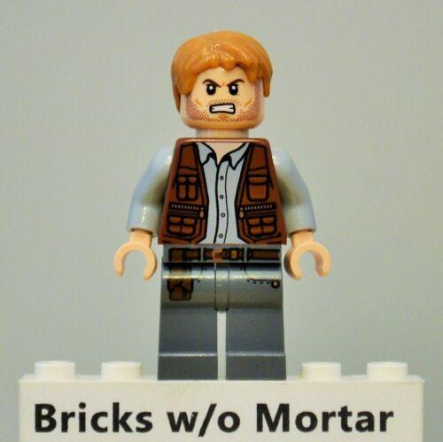 New Genuine LEGO Owen Grady Minifig Jurassic World 71205 75917