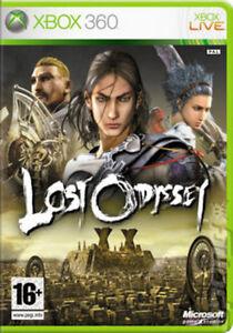 LOST-ODYSSEY-Microsoft-Xbox-360-4-Disc-MOLTO-BUONO-1st-Class-consegna