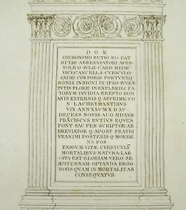 Grandjean-Montigny-1813-Tombeau-of-H-Butius-Eglise-of-the-Minerve-Rome-Italy