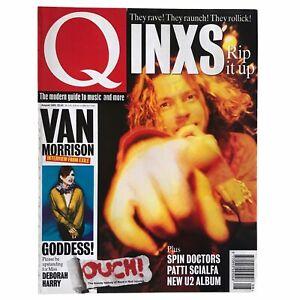 Q Magazine INXS Van Morrison Spin Doctors Blondie Debbie Harry PJ Harvey 1993
