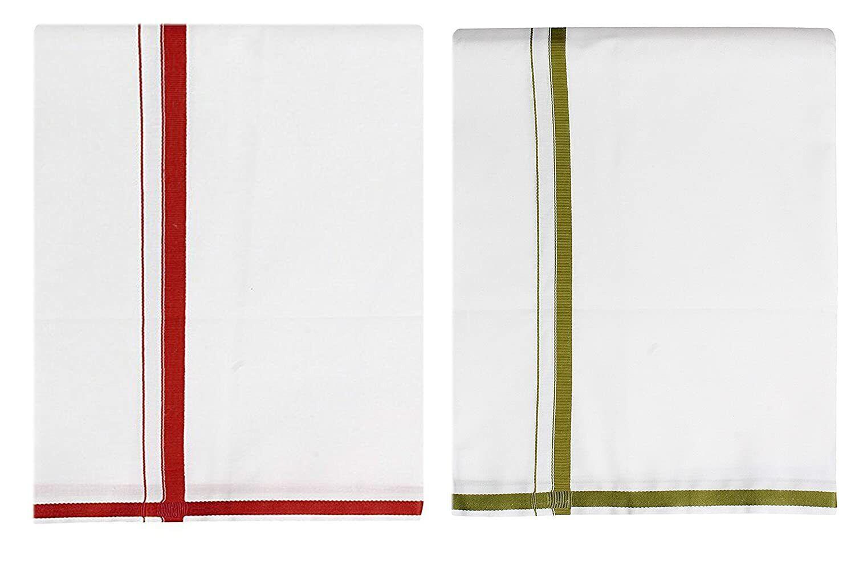 Cotton Mens fantacy Cotton single (1.30X2.00 Meter) 2 Colour Combo Dhoti UK