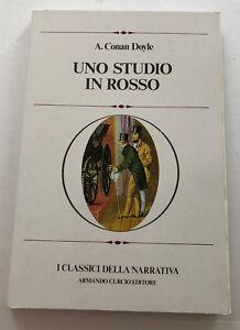 Uno-Studio-in-rosso-di-A-Conan-Doyle-I-Classici-della-narrativa-1978