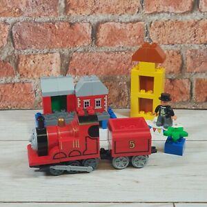 LEGO-DUPLO-Thomas-the-Tank-Engine-5547-James-celebre-Sodor-jour-complet