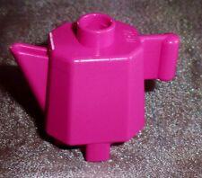 1 Lego Duplo Puppenhaus Tee Kaffee Kanne Küche pink Einrichtung aus 3088