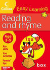 Reading and Rhyme by HarperCollins Publishers (Paperback, 2008)
