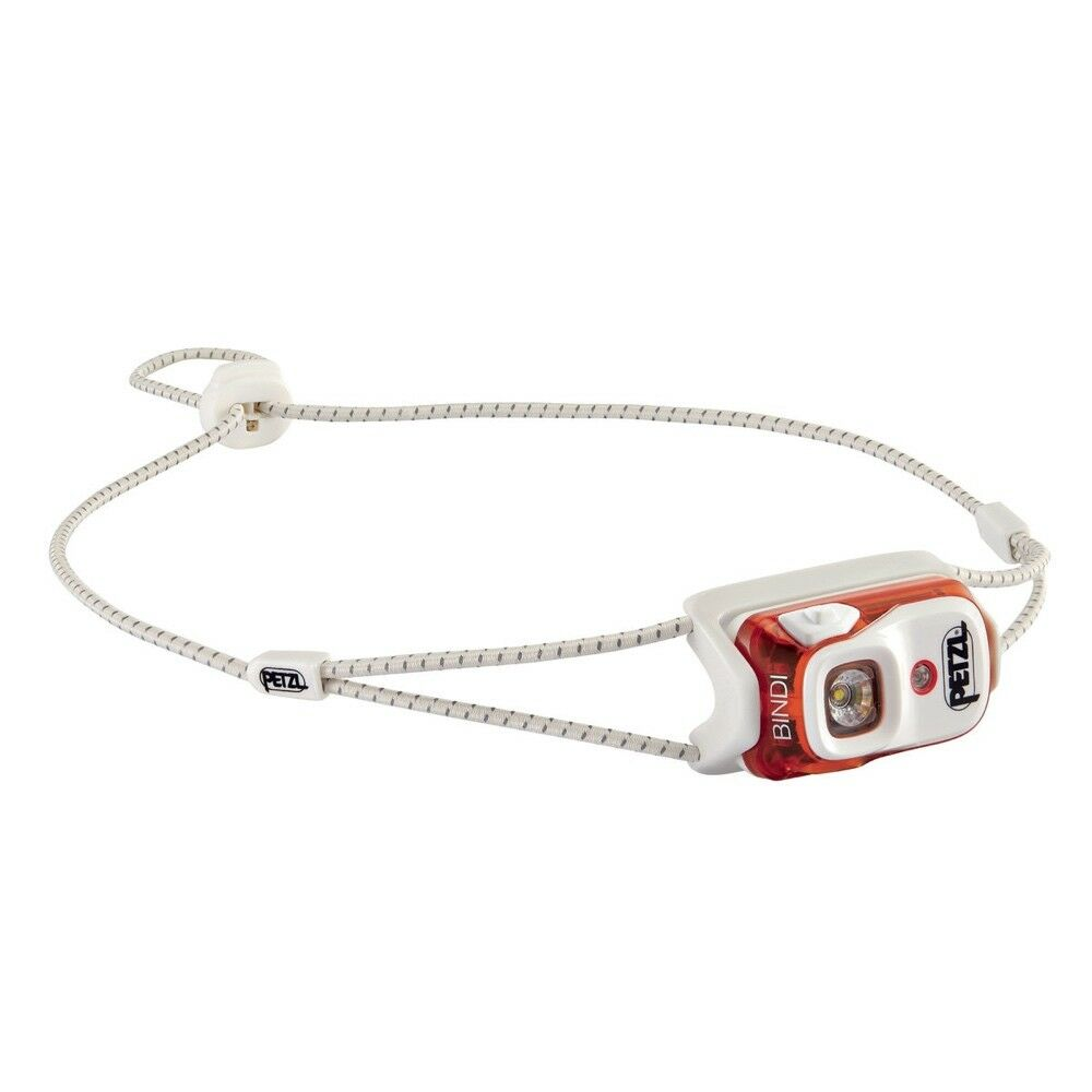 PETZL BINDI Orange HEADLAMP - ULTRA COMPACT HEADLAMP Orange - USB RECHARGEABLE 1e13bd