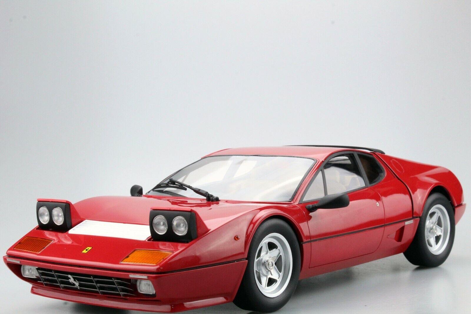 1 12 top marques tm12-09a ferrari 512 BBI rojo Limited Edition
