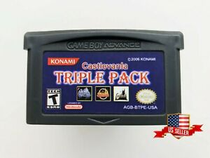 Castlevania-Triple-Pack-Gameboy-Advance-GBA-Double-Aria-of-Sorrow-Circle-of-Moon