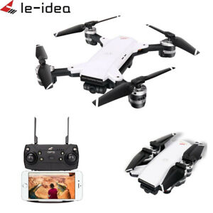 Le-idea IDEA 10 RC Drone GPS Wi-fi FPV 1080P Gran Angular Cámara Cuadricóptero Hover F