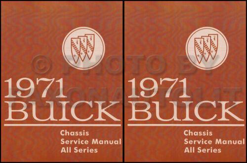1971 Buick Shop Manual GS Skylark Riviera LeSabre Electra ...